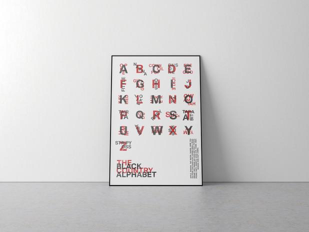 Black Country Alphabet Poster