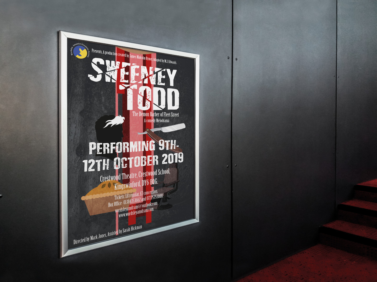 Sweeney Todd 60x40' Poster