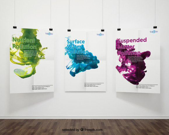Earth's Water Posters