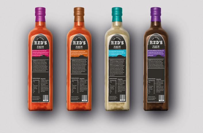 Sauce Bottles Back