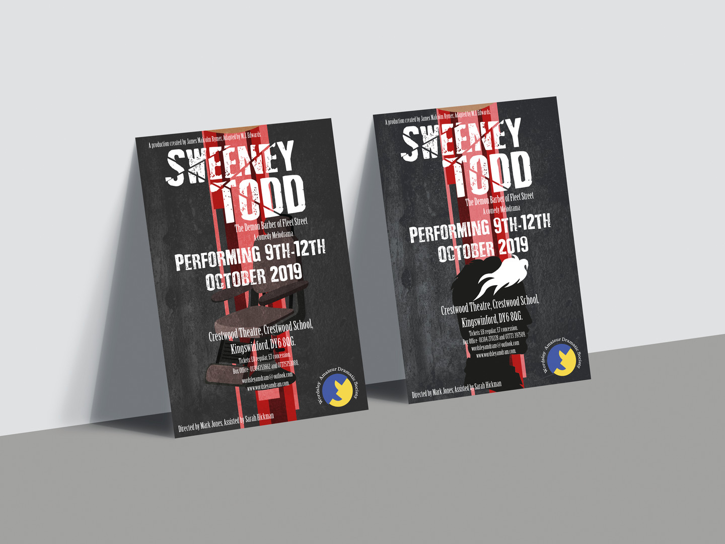 Sweeney Todd Posters 3 & 4