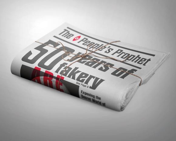 Newspaper Folded