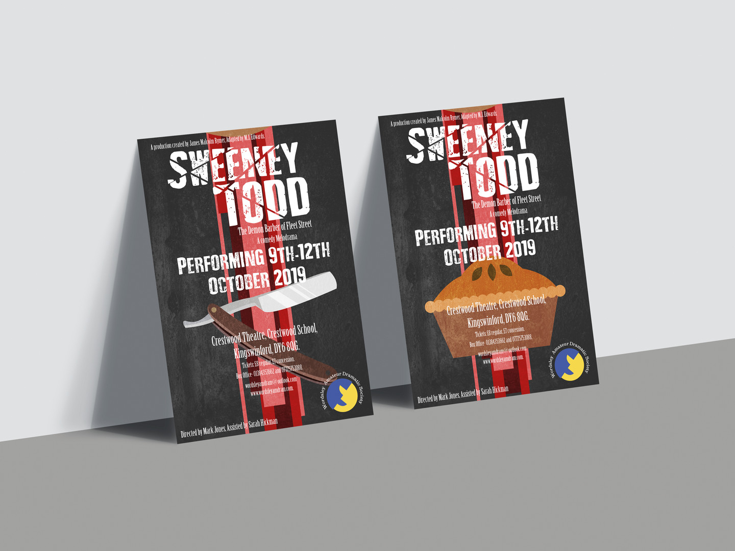 Sweeney Todd Posters 1 & 2