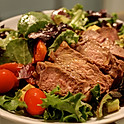 BEEF STRIPS SALAD