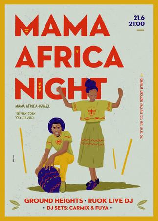 Mama africa night