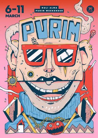 PURIM at the Kuli alma