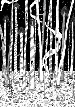 The Candle Forest
