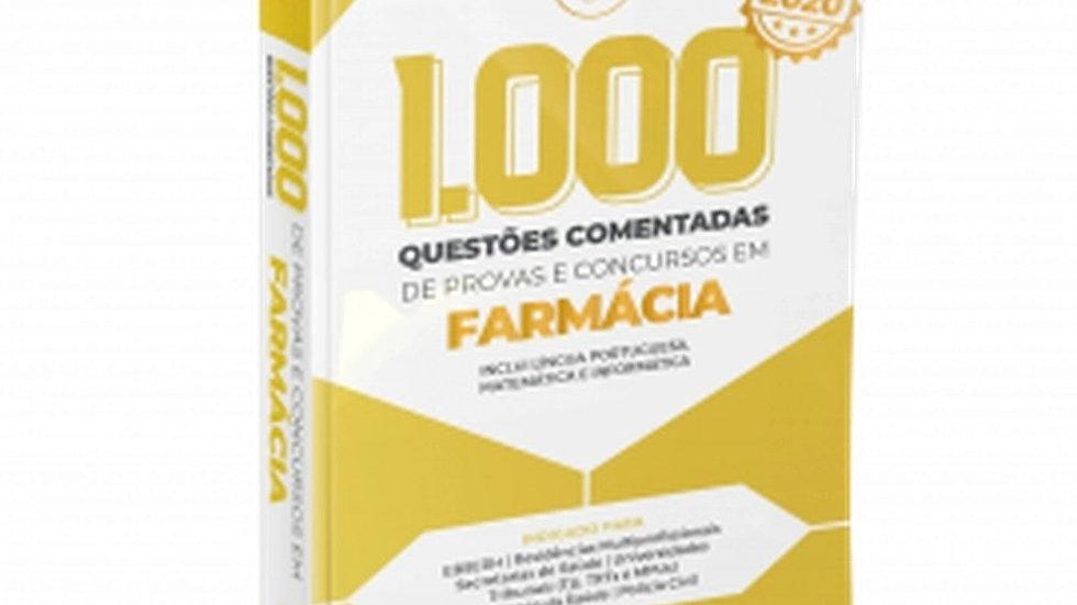 1.000 QUESTOES EM FARMACIA 2020 COMENTADA