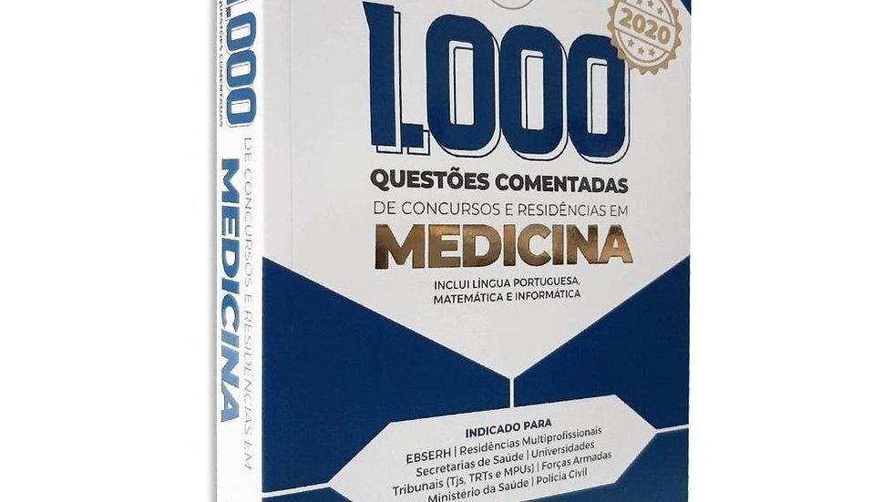 1.000 QUESTÕES COMENTADAS DE CONCURSOS E RESIDÊNCI