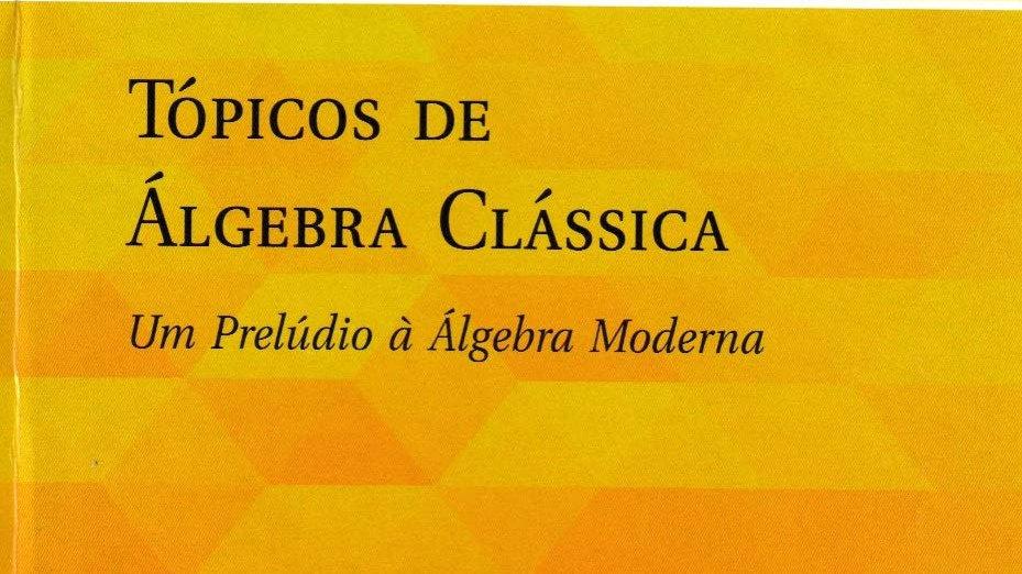 TOPICOS DE ALGEBRA CLASSICA