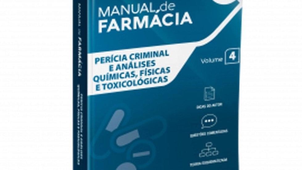 PERICIA CRIMINAL E ANALISES QUIMICAS, FISICAS E TO