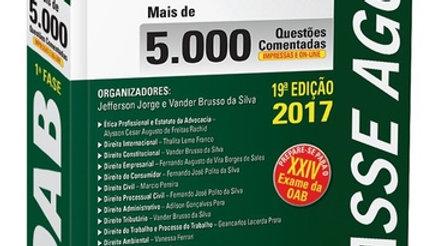 PASSE AGORA OAB 1A FASE   5.000 QUESTOES COMENTADA