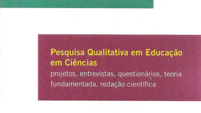 PESQUISA QUALITATIVA EM EDUCACAO EM CIENCIAS