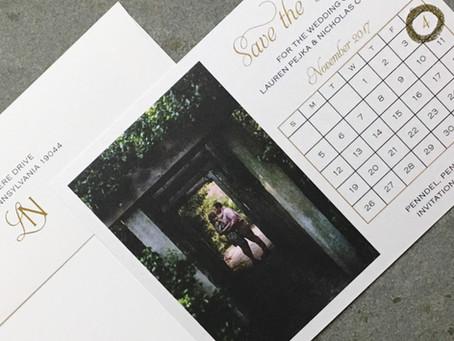 Wedding Stationery Timeline