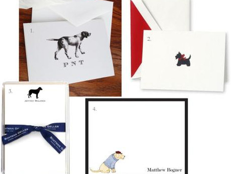 Dog Love and Stationery