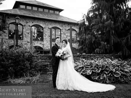 Emily & Matt's July 4th Wedding at the Phoenixville Foundry