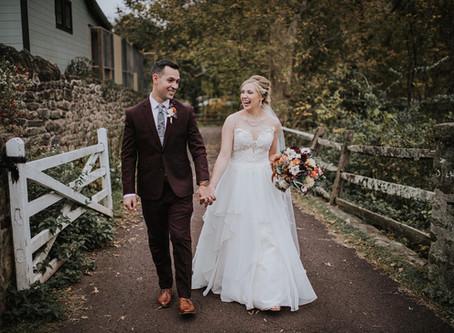 Real Weddings: Paige & Jason's Fall Wedding