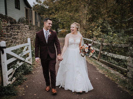 Real Weddings: Paige & Jason's Fall Wedding