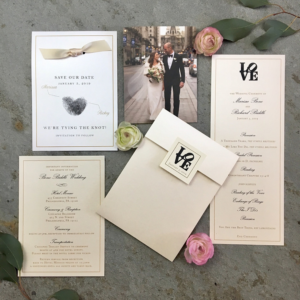Philadlephia: Wedding Invitation