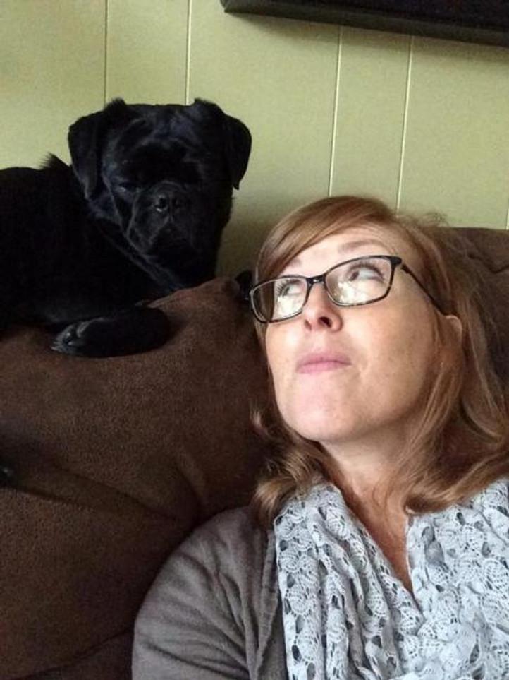 dog love - Otis