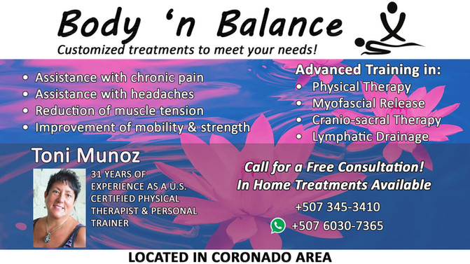 Get your Body in Balance!