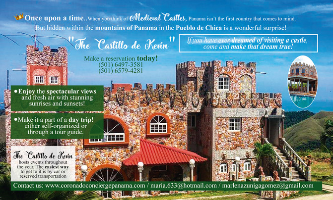 Once Upon A Time....A Castle in Panama!