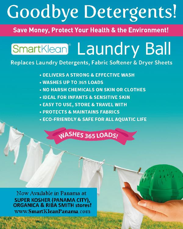 Clean Earth, Oceans and Laundry!
