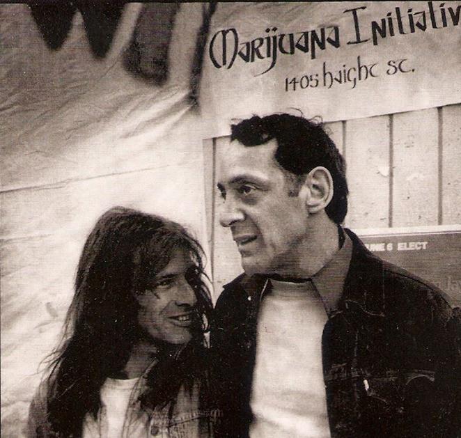 Dennis Peron and Harvey Milk, around 1977