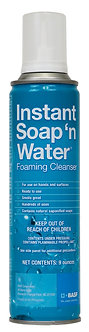 BASF Instant Soap 'N Water Foaming Cleanser