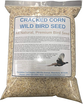 Cracked Corn Wild Bird Seed | All-Natural, Premium Bird Seed