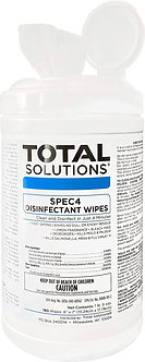 Total Solutions® SPEC4 Disinfectant Wipes