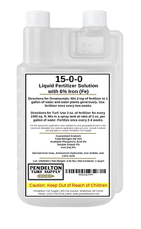 15-0-0-6 Fe - All Purpose Liquid Iron Fertilizer Solution