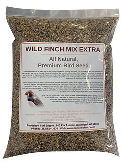 Wild Finch Mix Extra   All-Natural, Premium Bird Seed