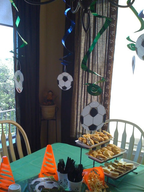 Island Parties - Soccer Party Theme