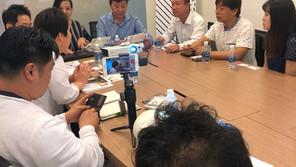 Welcome YANG PRINT Culture Support Center | Tiếp đón đoàn DN thiết kế YANG PRINT Culture (Korea)