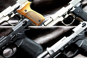 Restricted firearms in Canada, semi-automatic handguns