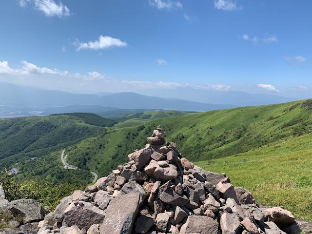 車山高原山頂