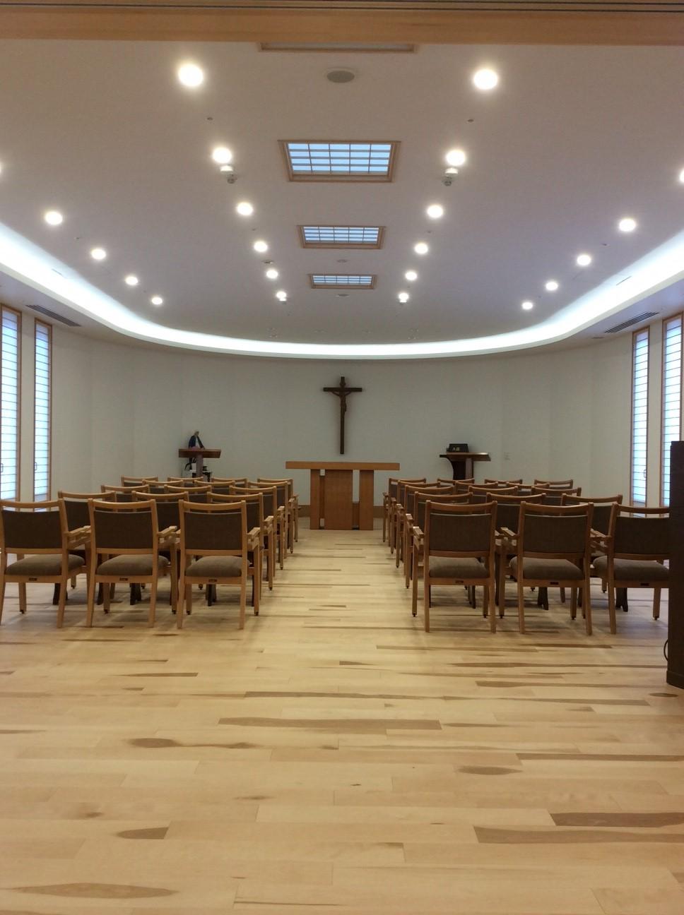 聖心の布教姉妹会様 お御堂