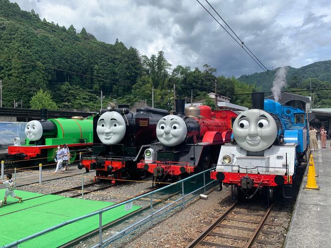 大井川鉄道トーマスフェアに行ってきました