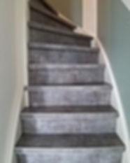 Traprenovatie Betonlook floors and stair
