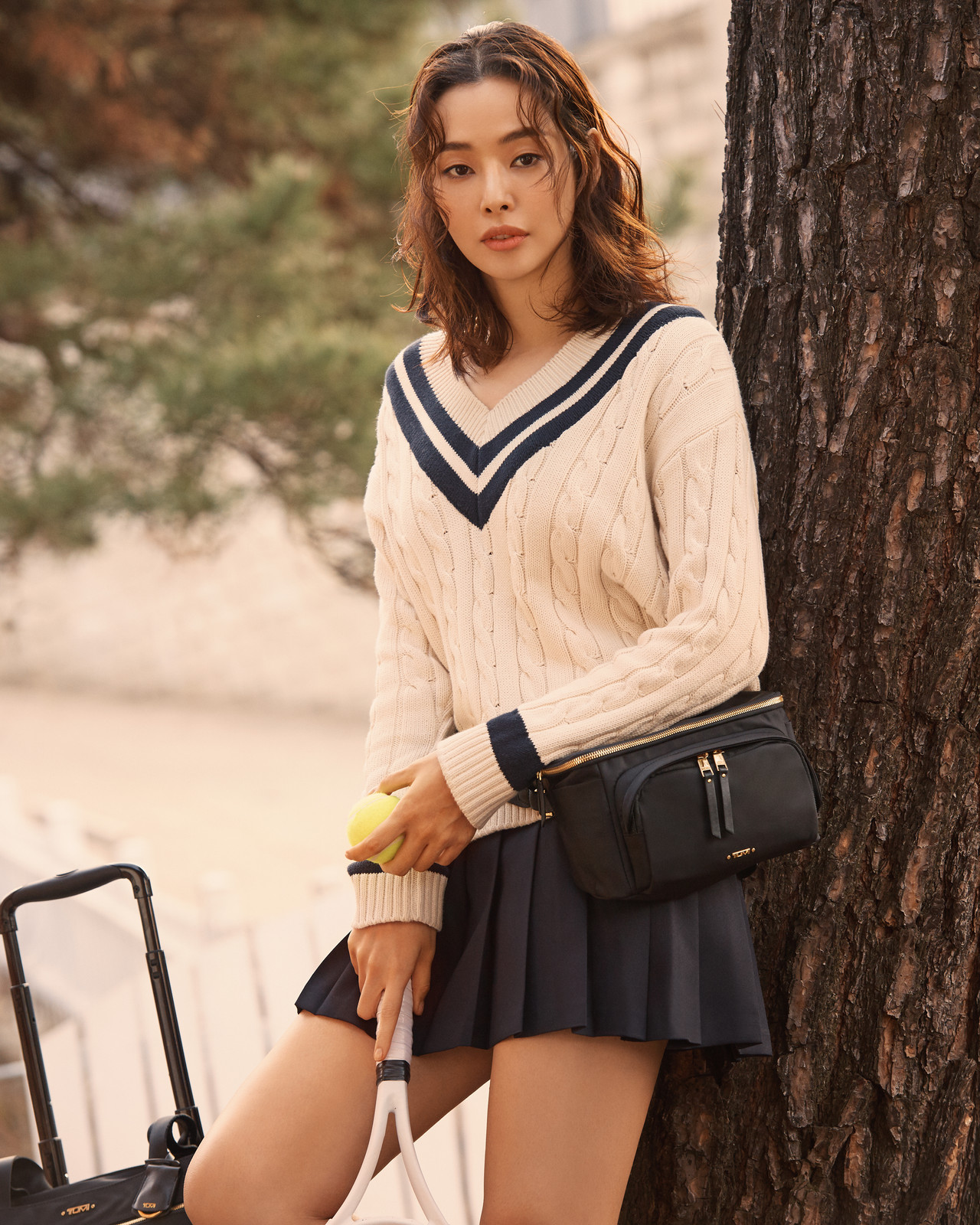 Tumi 2018 F/W Collection X Lee Hanee