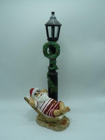 Santa Lamp with LED Light