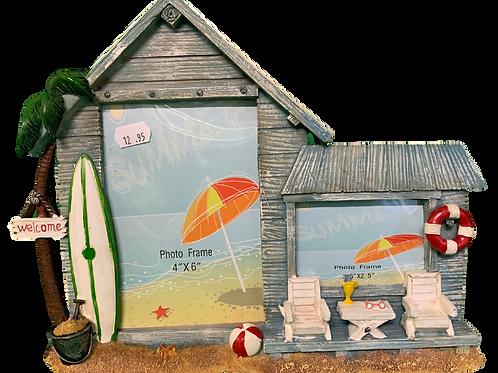 Beach Shack Photo Frame