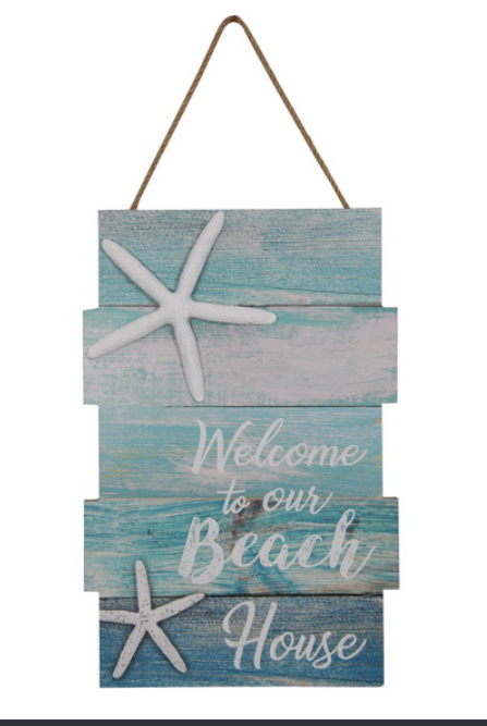 Beach House Plaque