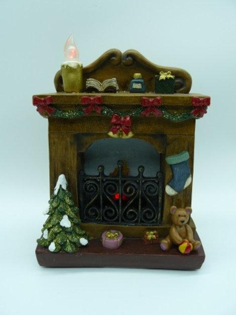 Teddy Fireplace