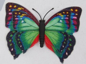 Beautiful PVC Soft Butterfly Magnets