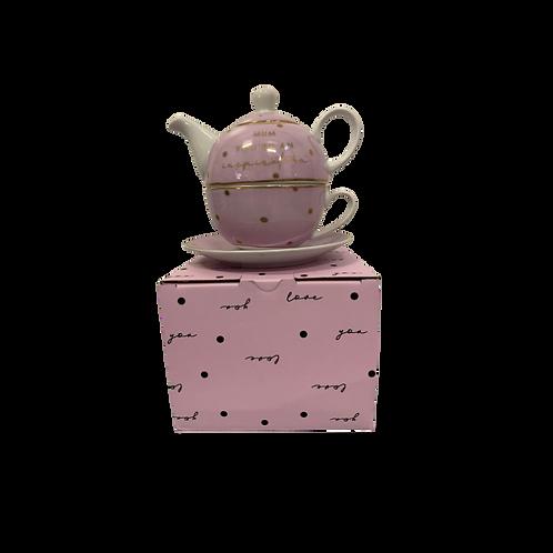 Dotty Teapots & Mini Tea Sets