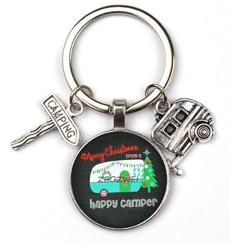Happy Camper Key Rings