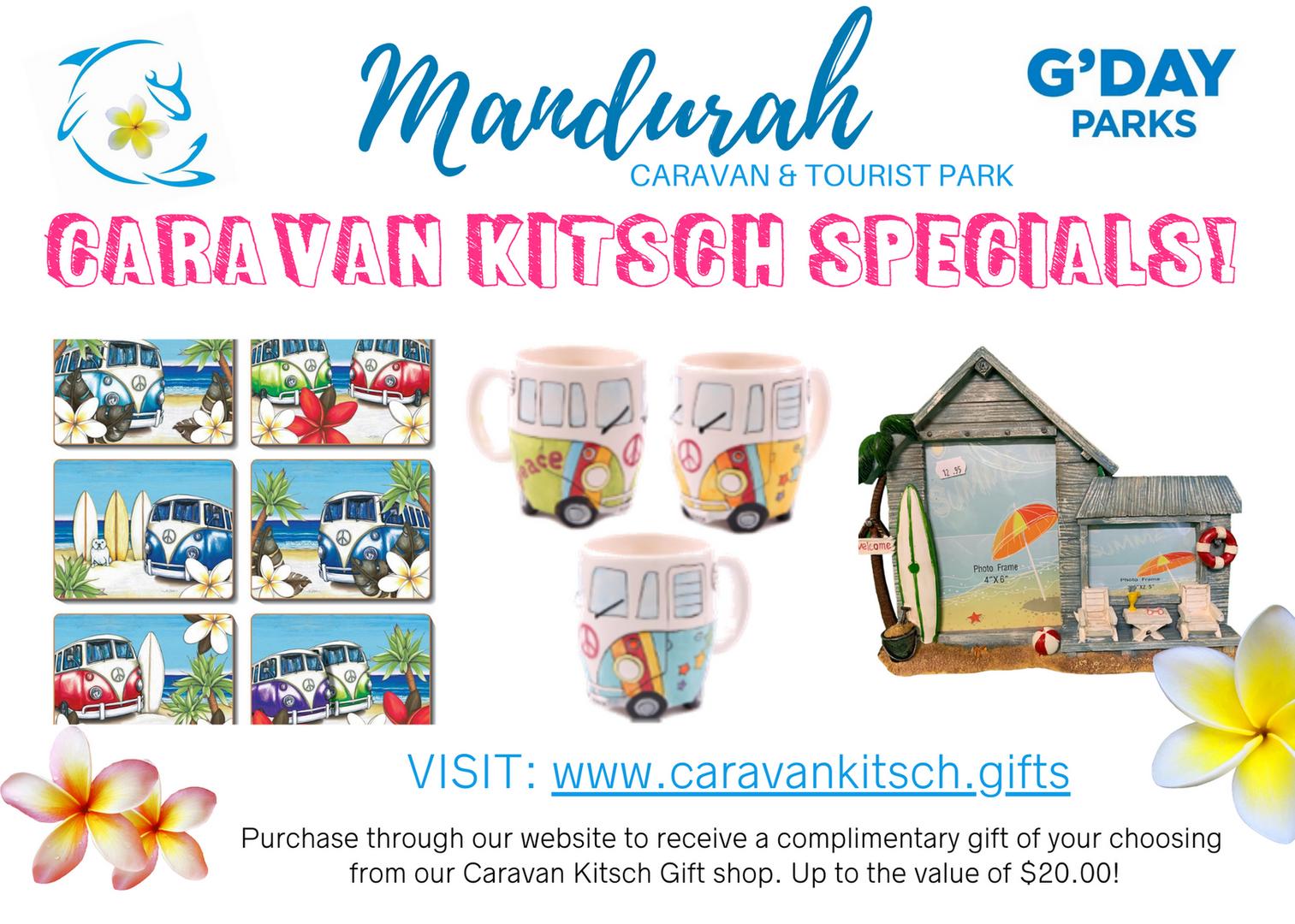 Caravan Kitsch Gift Shop