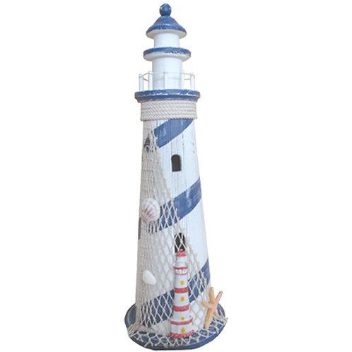 Large Lighthouse Blue